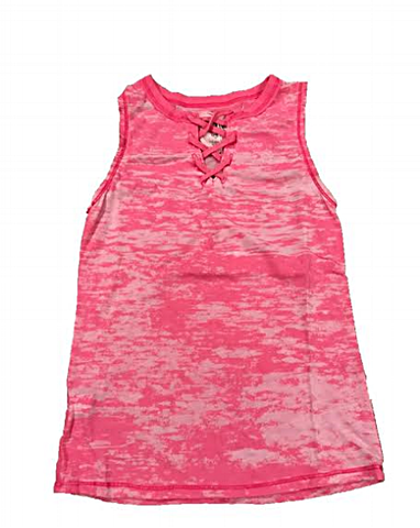 T2Love - T2 Love Lace Up Tank - childwithstyle