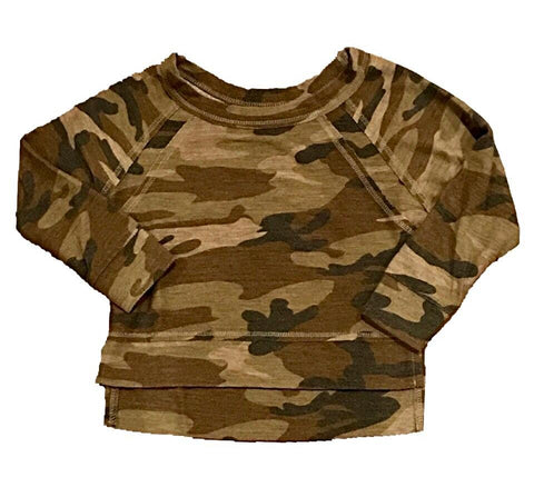 T2Love - T2 Love Camo Long Sleeve Top - childwithstyle