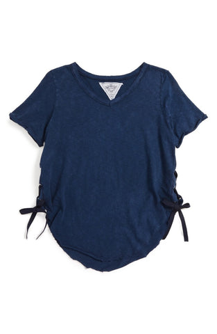 T2Love - T2 Love Side Lace-Up Tee - childwithstyle