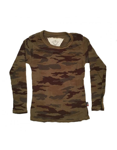 T2Love Camo Long Sleeve Tee