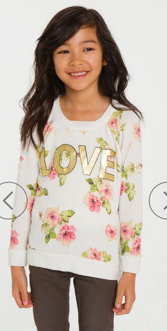 Chaser Kids - Chaser Love Flowers - childwithstyle
