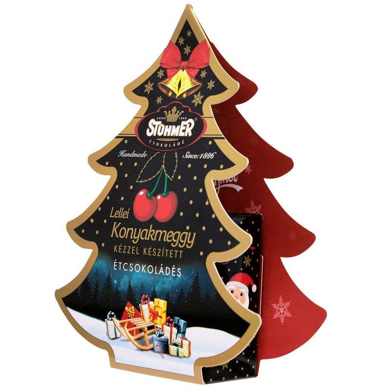 Cherry Liqueur Pralines Christmas Edition 100g - Best of Hungary