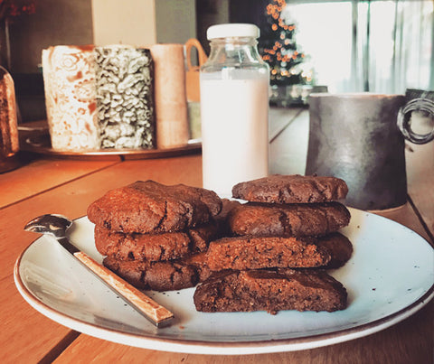 Fluffy and soft gingerbread cookies