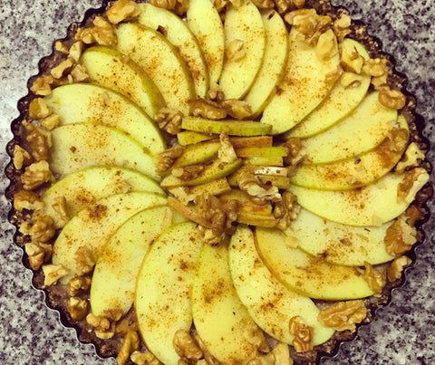 Cool apple tart