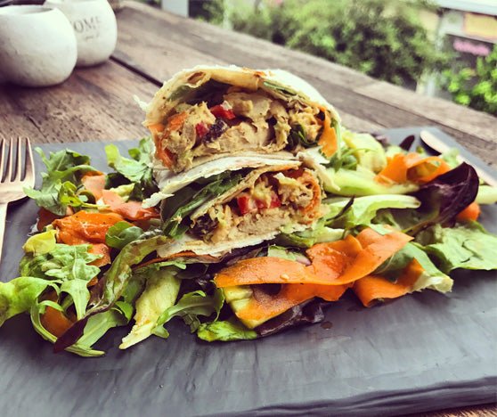 HEALTHY TUNA WRAP