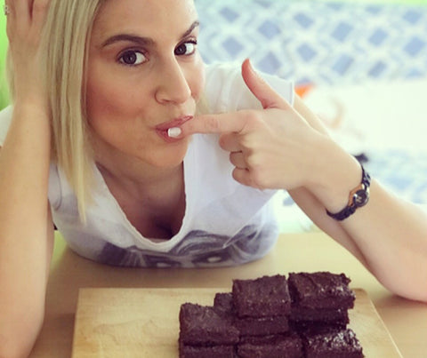 The healthiest brownies with sweet potato