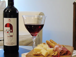 "BIOLOGICAL RED WINE ""JULIET"" FROM ANCIENT OLYMPIA"