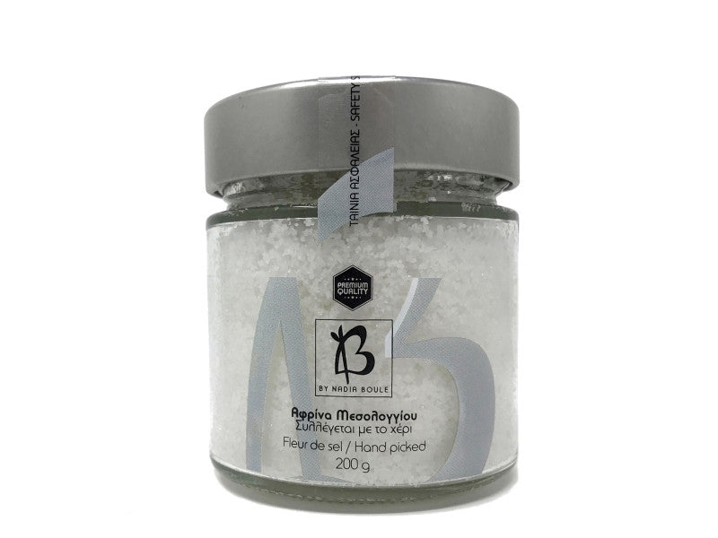 "COMPLETELY UNPROCESSED FLEUR DE SEL - ""AFRINA"" FROM MESOLONGI"