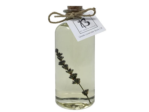 ORGANIC LAVENDER BODY OIL