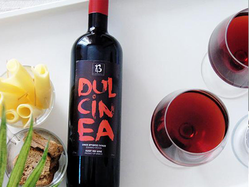 DULCINEA RED WINE FROM KEFALONIA