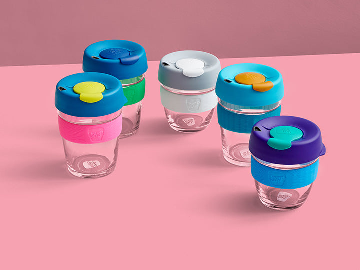 KeepCup Clear Edition Original Οικολογικό ποτήρι καφέ Radiant 355ml / 12oZ
