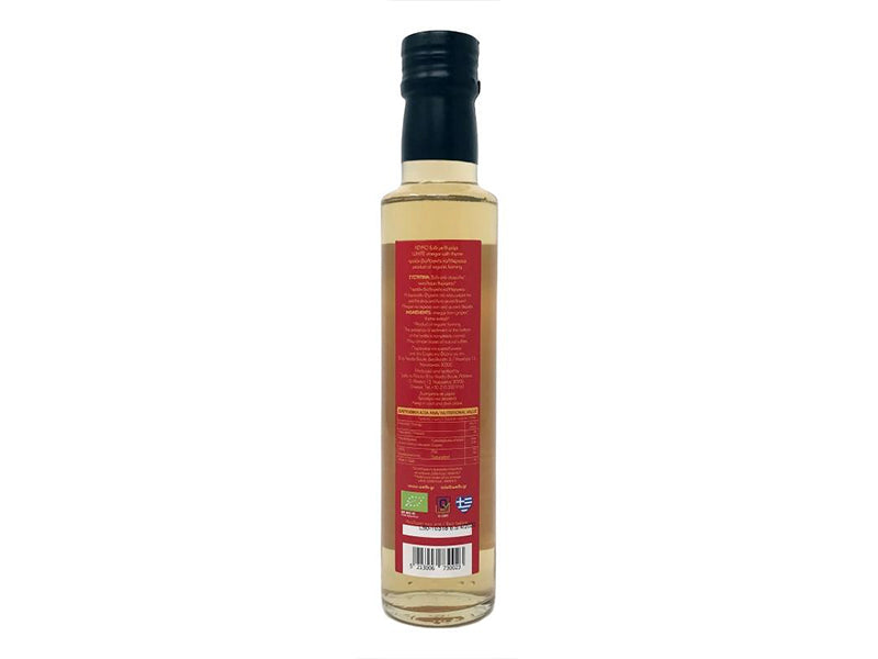 ORGANIC WHITE VINEGAR WITH THYME FROM NEMEA