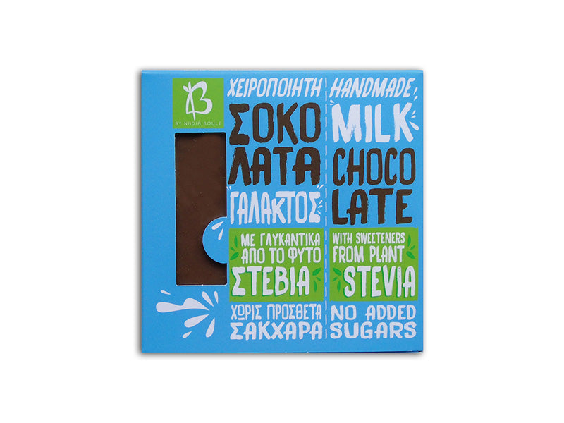 MILK CHOCOLATE WITH STEVIA