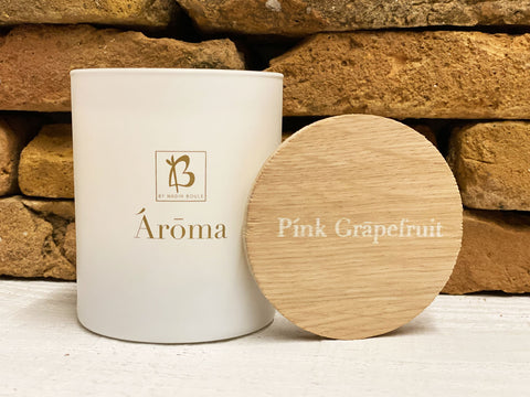 PREMIUM HAND POURED ΚΕΡΙ PINK GRAPEFRUIT