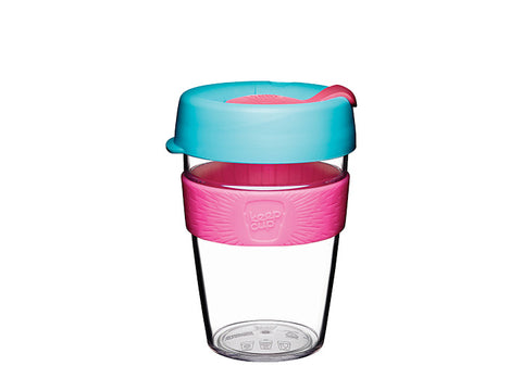 KeepCup Clear Edition Original Eco Bio Coffee Radiant 355ml / 12oZ