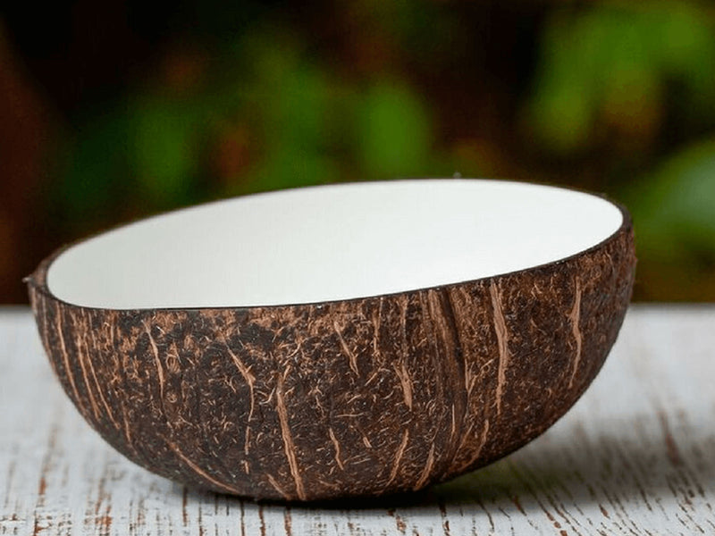WHITE COCONUT BOWL