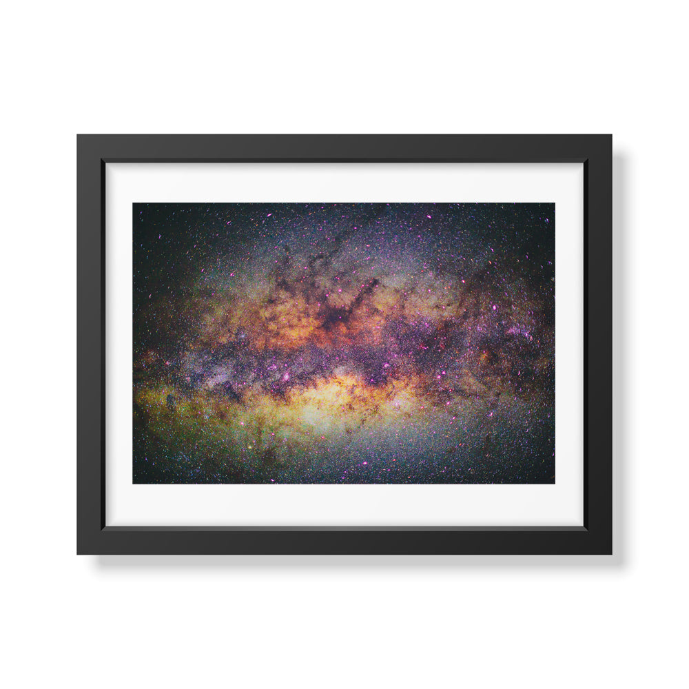 Framed Stars over Kenya Milky Way Photo