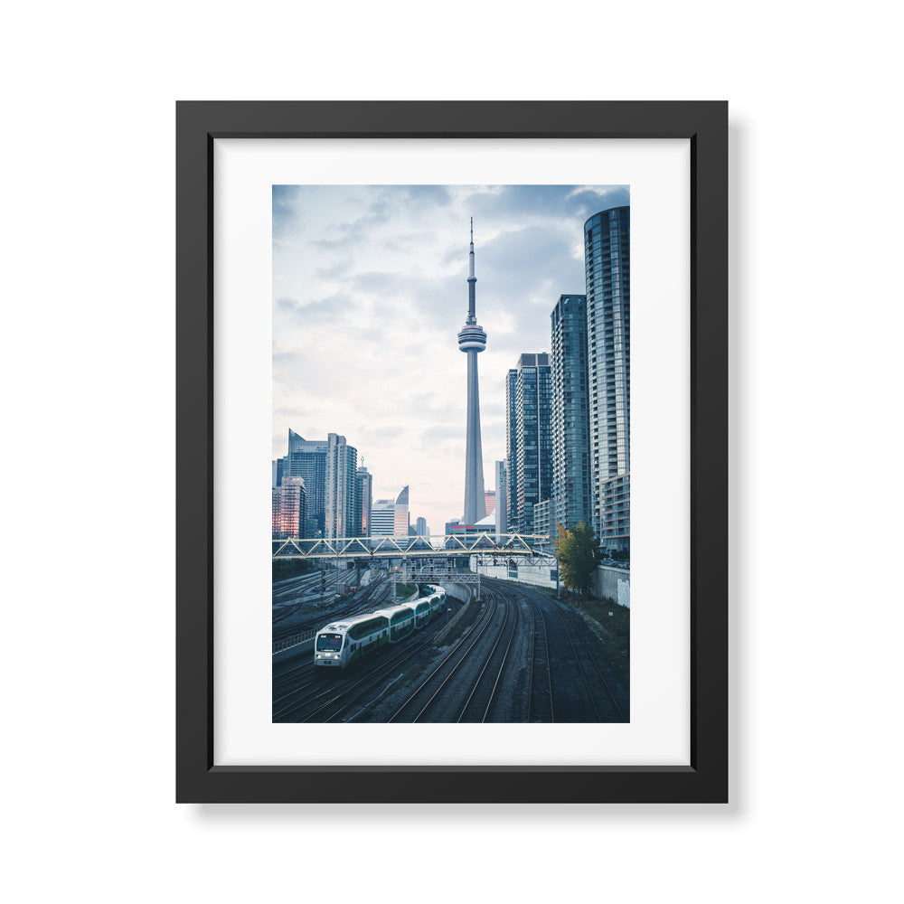 Toronto, Framed from Bathurst Bridge