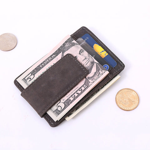 Leather Money Holder - My Home Shopping Network
