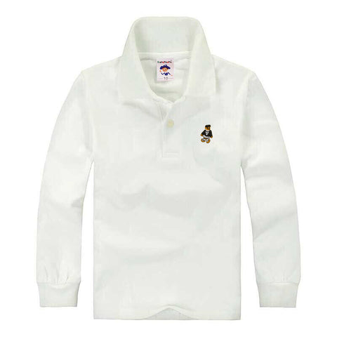Boy Kid School Uniform Polo Shirt - My Home Shopping Network