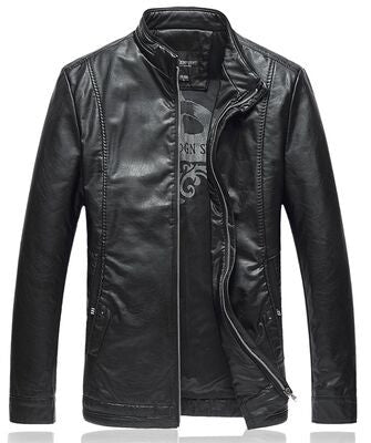 Black Leather Jacket For Men - My Home Shopping Network