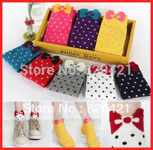 Polka Dot Socks - My Home Shopping Network