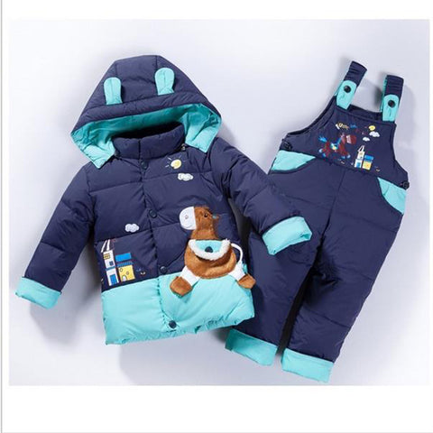 Boys & Girls Kids  Winter Warm Jacket Suit - My Home Shopping Network