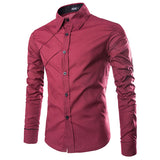 Men Collar Shirts Casual - My Home Shopping Network