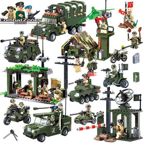 Military Educational Building Blocks Toys For Children