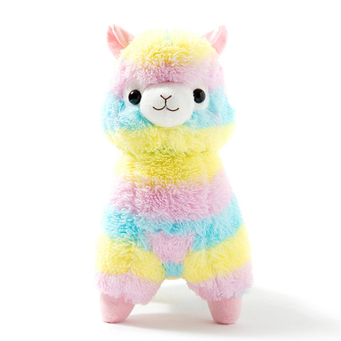 Rainbow Alpaca Plush Sheep Toy For Babys
