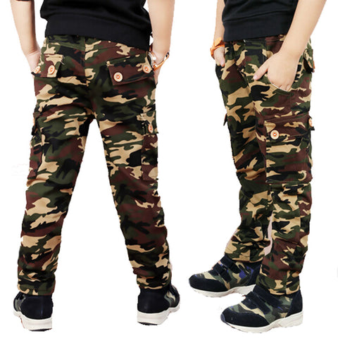 Boys pants Camouflage pants Children Boys Casual Fashion - My Home Shopping Network