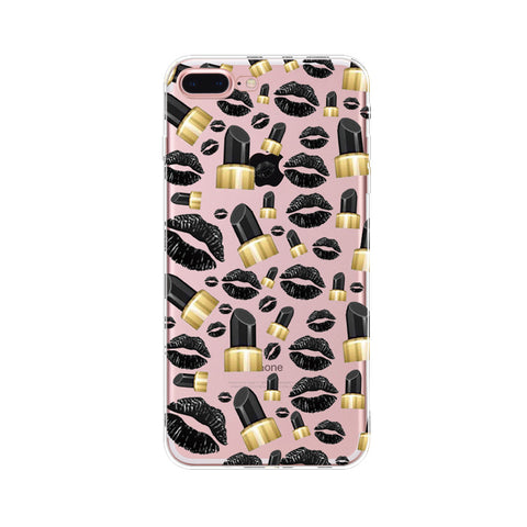 cartoon summer cool makeup case For Iphone - My Home Shopping Network