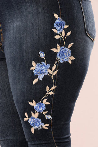 High Waist Winter Denim Women Jeans