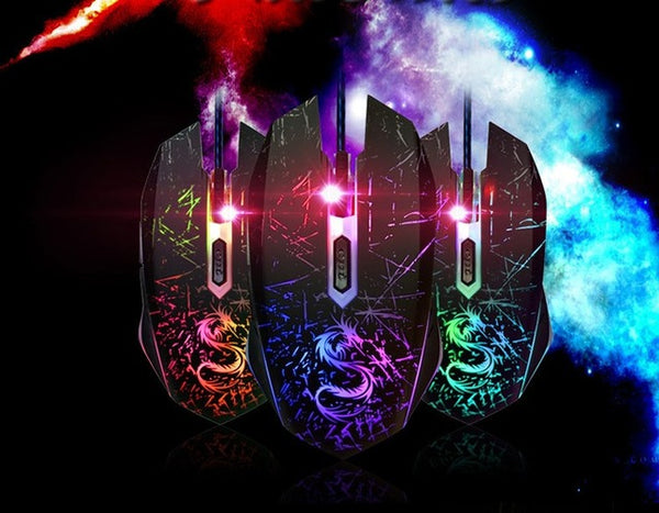 Brand 6Key USB Laptops Wired Gaming Mouse 3200DPI gamer for Notebook Computer PC Sem fio for dota2 cs go Games Mause Snigir Mice