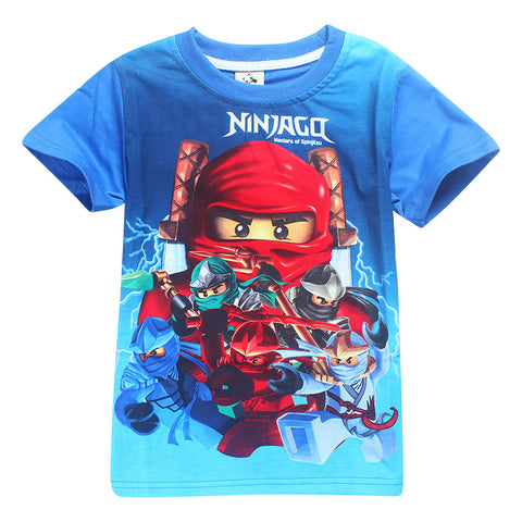 Blue Coloured Boys Child T-shirts - My Home Shopping Network