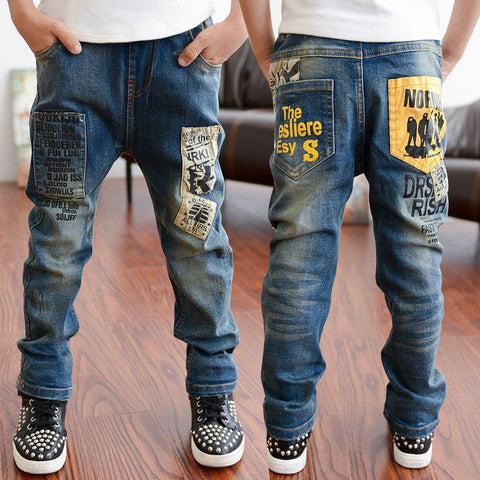 Boys Jeans Bottom Children Denim Trousers Jeans Clothes - My Home Shopping Network