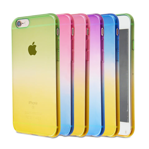 Case Gradual Color Cover For iPhone Transparent - My Home Shopping Network