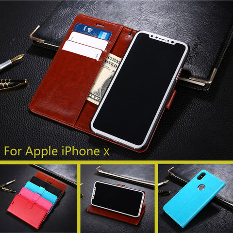 Case Luxury Wallet  Leather Stand Cover Phone Case For iPhone - My Home Shopping Network