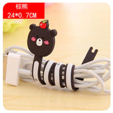 USB Cable Holder Cover Case For Apple iPhone