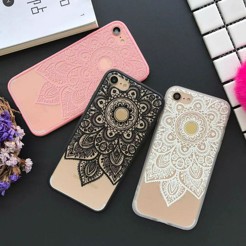 Beautiful Datura Floral Phone Cases For Apple - My Home Shopping Network