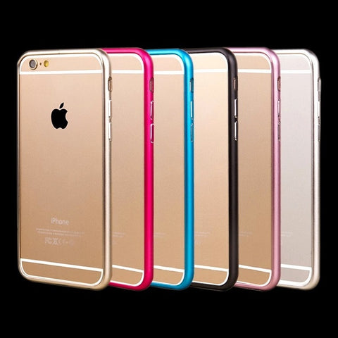 Aluminium Metal Bumper Frame Case Cover for iPhone - My Home Shopping Network