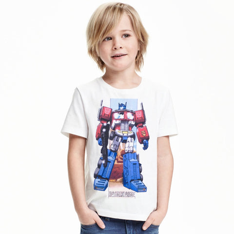 Boys Fashion Tops Cotton short sleeve children - My Home Shopping Network