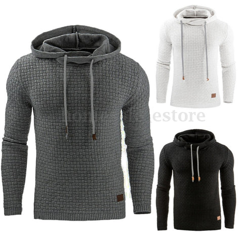 Men Long Sleeve Hooded Mens Hoodie Tracksuit Casual Sportswear