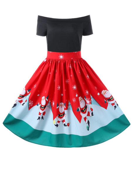 Christmas Autumn Women Dress - My Home Shopping Network