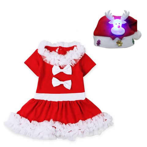 Baby Girls Christmas Santa Claus Dress - My Home Shopping Network
