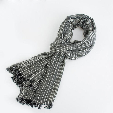 Men Warm And Soft Winter Scarf - My Home Shopping Network