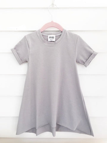 Perfect Gray Boho Dress