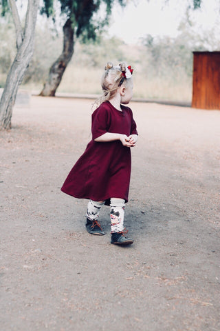 Burgundy Harmony Dress