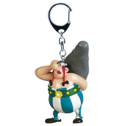 Asterix Obelix with Menhir Keychain - Keychain - Asterix - GalaxT