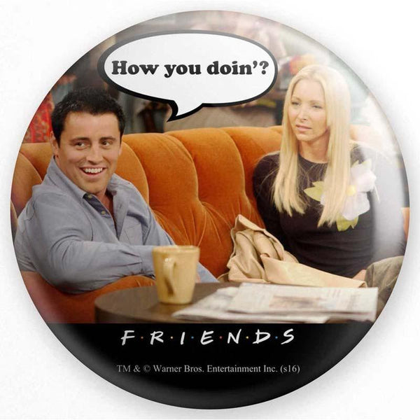 Friends How You Doin Badge - Badges - Friends - GalaxT